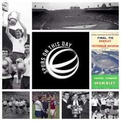 Spurs On This Day - 5th May 1962  Spurs beat Burnley at Wembley to win the FA Cup for the 2nd season in a row