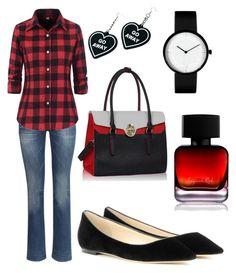"""""""Autumn Dreams"""" by ghostgypsy on Polyvore featuring H&M, Jimmy Choo, Witch Worldwide and The Collection by Phuong Dang"""