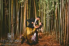 Indian Engagement Session at Barnsley Gardens