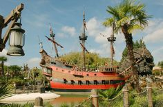 Disneyland Park, Adventureland - Captain Hook's Galley, Disneyland Paris
