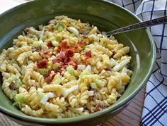 Bacon & Egg Pasta Salad Recipe