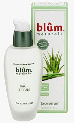 Blum Naturals Face Serum, 1.69 Fluid Ounce…
