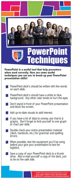 Powerpoint Techniques from the Champions School of Real Estate blog!