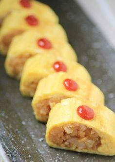 オムライス風玉子焼き Omurice tamago yaki