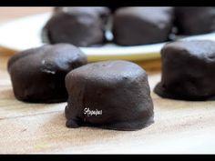 Como hacer los Morenitos. Receta casera y Tradicional - YouTube Pudding, Desserts, Food, Chocolate Frosting, Homemade Recipe, Butter, Pork, White Wine, Finger Foods