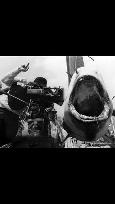 Spielberg and the shack.