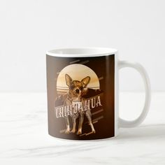 Chihuahua Quotes, Chihuahua Terrier Mix, White Chihuahua, Christmas Diy, Christmas Decorations, Animal Quotes, Photo Mugs, Coffee Mugs, Puppies