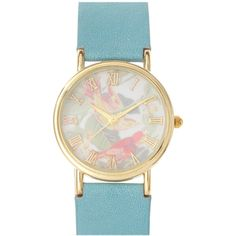 Asos Vintage Look Bird Dial Watch found on Polyvore