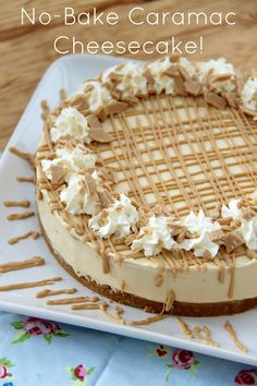 No-Bake Caramac Cheesecake!