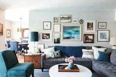 INSPIRACIÓN: Antes y después salón - Before and After the livingroom