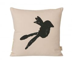 Rose Pink Bird Cushion - Castles for Rascals