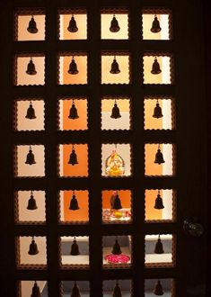 modern puja door design - Google Search