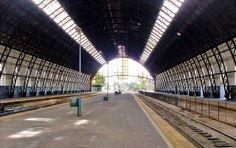 CRÓNICA FERROVIARIA: Comienzan los trabajados de remodelación en la est...