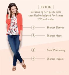 A Guide to Petite Sizing at Stitch Fix! Elissa - I imagine these will be up my short leg alley :) Petite Fashion Tips, Petite Outfits, Petite Dresses, Petite Clothes, Style Clothes, Chic Outfits, Fashion Days, Look Fashion, Spring Fashion