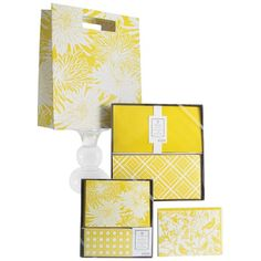 I pinned this Yellow Aviary Collection Assortment Set from the Elum Designs event at Joss and Main!