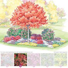 Autumn island bed   Garden Gate eNotes