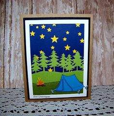 Ann Greenspan's Crafts: Camping Out Under the Stars