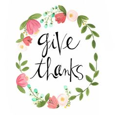 give thanks — the painted arrow