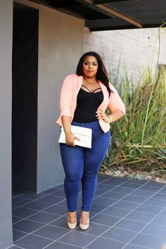 Curvy Outfit Ideas | Petite Outfit Ideas | Plus Size Fashion | Summer Fashion | OOTD | Professional Casual Chic Fashion and Style Inspiration | blazer