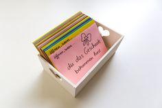 Du weißt nicht, was du deinem Partner zum Valentinstag schenken sollst? Die Öffnen Wenn Briefe sind das perfekte Geschenk! Hier geht es zur DIY-Anleitung...