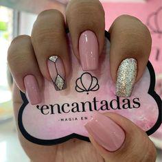 Classy Nails, Fancy Nails, Trendy Nails, Pink Nails, Cute Nails, My Nails, Square Acrylic Nails, Cute Acrylic Nails, Turquoise Nail Art