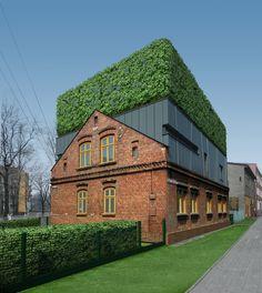 D house- Urban sandwich | ZALEWSKI ARCHITECTURE GROUP | Archinect