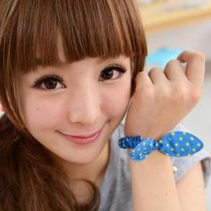 Buy '59 Seconds – Set of 5: Bow-Accent Polka Dot Hair Tie' with Free International Shipping at YesStyle.com. Browse and shop for thousands of Asian fashion items from Hong Kong and more!