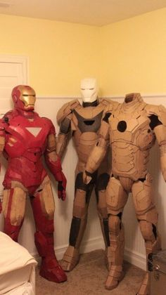 cardboard ironman suit costumes!