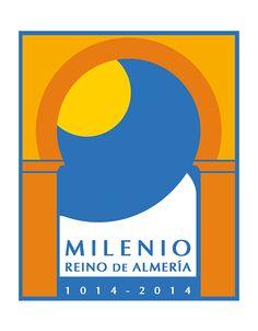 Logo finalista en el concurso para la imagen del Milenio del Reino de Almería. Elaborado por el Dpto. de Diseño y Publicidad de Grupo Multidial.