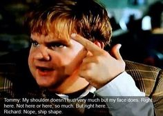 I love Tommy Boy! Definitely one of the best movies I've seen X-D Comedy Quotes, Tv Quotes, Funny Quotes, Funny Movies, Great Movies, Favorite Movie Quotes, Tommy Boy, Movie Lines, Adventure Quotes