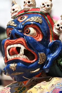 Ladakh, Buddhist mask