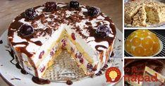 Prinášame vám 13 najlepších receptov na sladké dobroty - torty, ktoré chutia vynikajúco a čo je najlepšie, ich príprava je skutočne jednoduchá!