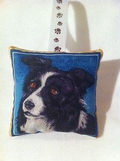 Border Collie Christmas Gift / Sheep Dog Fabric Lavender Bag / Stocking Filler