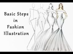 Steps in Fashion Illustration by FashionSchoolNigeria - Drawing Technique