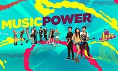 SOY LUNA - Music power na segunda temporada