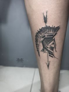 Schulterpanzer Tattoo, Tattoos 3d, Twin Tattoos, Helmet Tattoo, Leg Tattoo Men, Arrow Tattoos, Body Art Tattoos, Sleeve Tattoos, Cool Tattoos