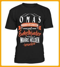 Oma Enkelkinder Helden - Shirts für großeltern (*Partner-Link)