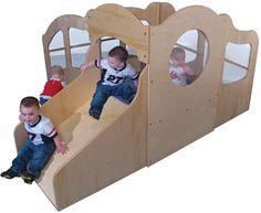 Strictly for Kids Mainstream Infant Toddler Indoor Mini Dream Loft, Blue Carpet Hallway Carpet Runners, Cheap Carpet Runners, Toddler Play, Toddler Bed, Classroom Furniture, Blue Carpet, Indoor Play, Loft, Mini