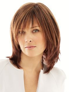 Shag hairstyles, Medium lengths and Hairstyle for women on Pinterest