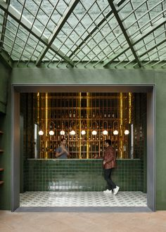 Santomate Restaurant / Daniela Bucio Sistos // Taller de Arquitectura y Diseño Bar Interior, Interior And Exterior, Design Ppt, Cafe Design, House Bar Design, Café Restaurant, Restaurant Design, Commercial Design, Commercial Interiors