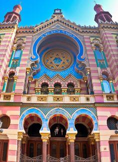Jerusalem Synagogue in Prague, Czechia