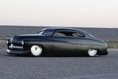 1949 Mercury  This matte black would look amazing on any car!