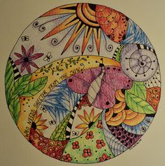 I wish my doodling was this gorgeous!