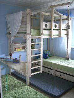 hochbett kaufen hochbetten erwachsene hochbett holz hochbett für ... - Hochbett Im Kinderzimmer Pro Und Contra Das Platzsparende Mobelstuck