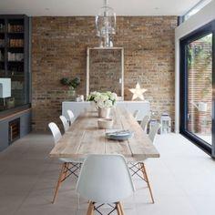 Table en planches de chêne Copenhague - FOR ME LAB