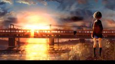 Awesome Wallpaper Engine Anime Wallpaper and more in the link below. Anime Wallpaper Live, Train Wallpaper, Watercolor Wallpaper Iphone, Iphone Wallpaper Fall, Scenery Wallpaper, Wallpaper Size, Moving Wallpapers, Phone Wallpapers Tumblr, Animes Wallpapers