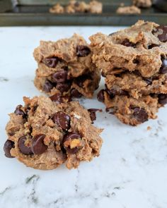 PB chocolate chip chickpea cookies – 20-Something Nutrition