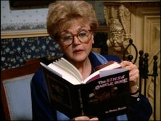 Is it weird my dream is that I grow up to be Jessica Fletcher from Murder, She Wrote?