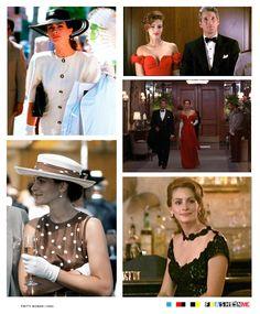 Pretty Woman (1990) - Movie Style - Vivian (Julia Roberts) #moviefashion