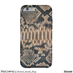 アミメニシキヘビ iPhone 6 タフケース